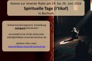Spirituelle Tage (I'tikaf)